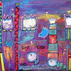 I find my kingdom  100x 80 cm  € 650